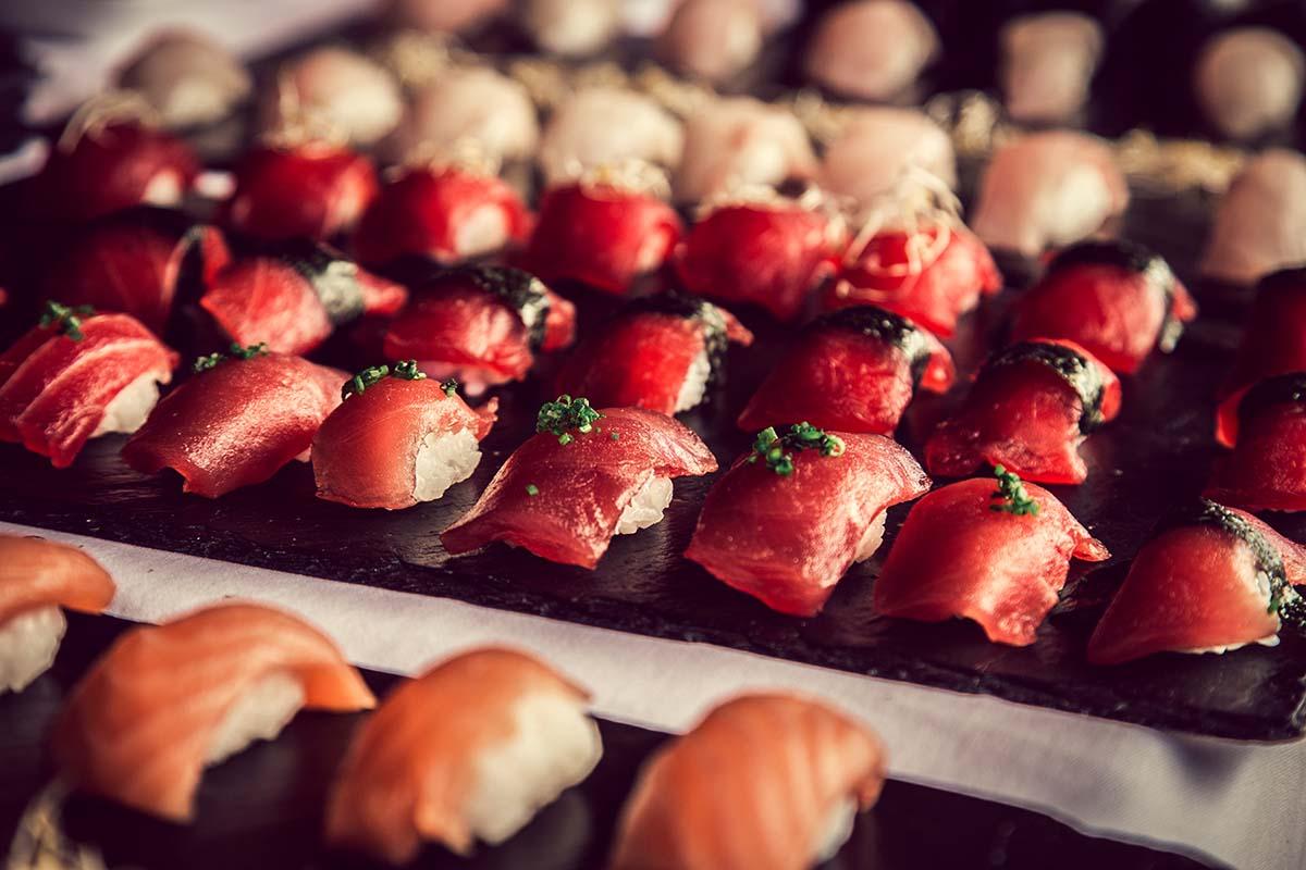 sushi per casaments - Masia Pla dels Catalans